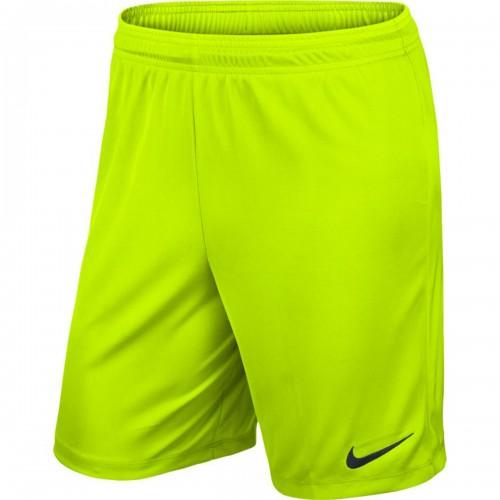 Nike Park II Knit Short ohne Innenhose neongelb
