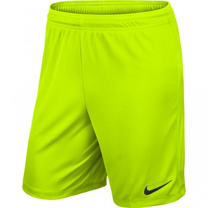 Nike Park II Knit Short neon yellow