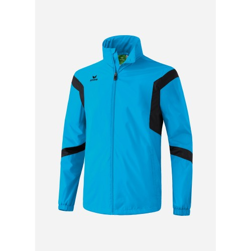 Erima Classic Team All Weather Jacket Kids turquoise/white