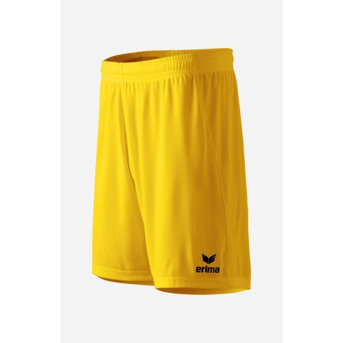 Erima Rio 2.0 Short Kids with innerslip yellow
