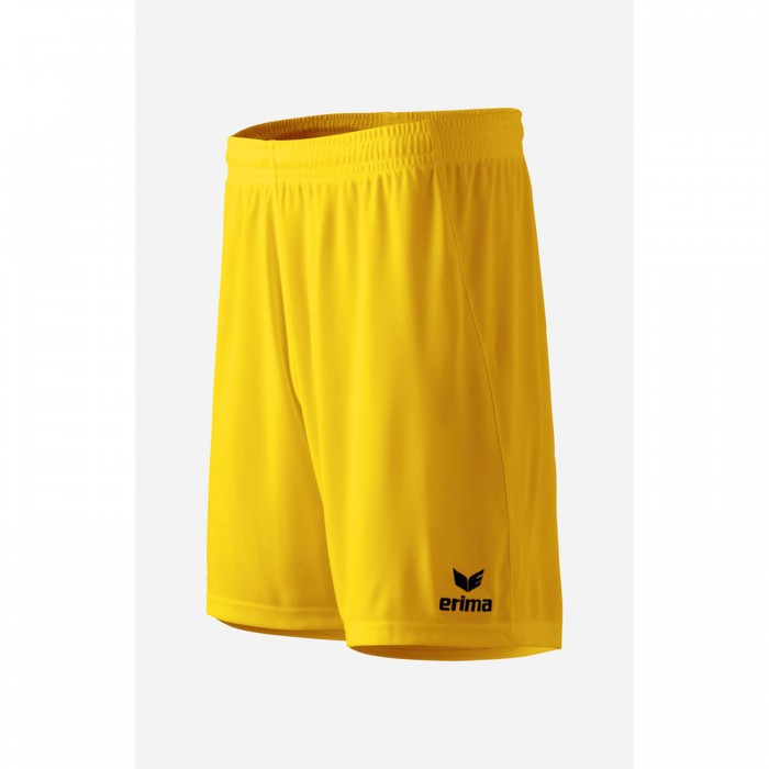 Erima Rio 2.0 Short Kids with innerslip yellow