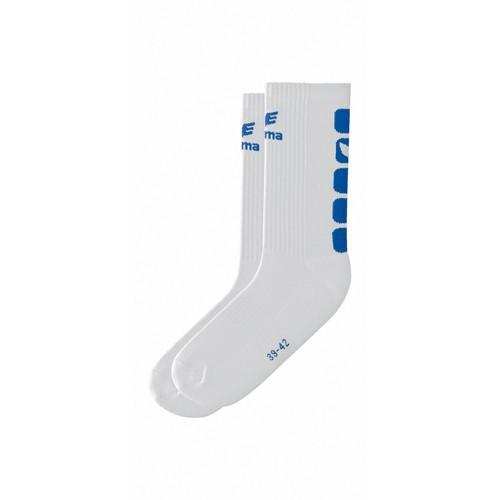 Erima Handball Socke weiß/royal