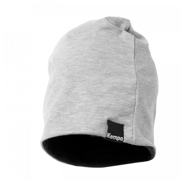Kempa Beanie-Mütze grau/schwarz