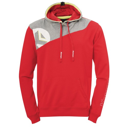 Kempa Core 2.0 Hoody red/gray
