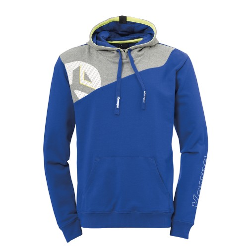 Kempa Core 2.0 Hoody Kinder royal/grau