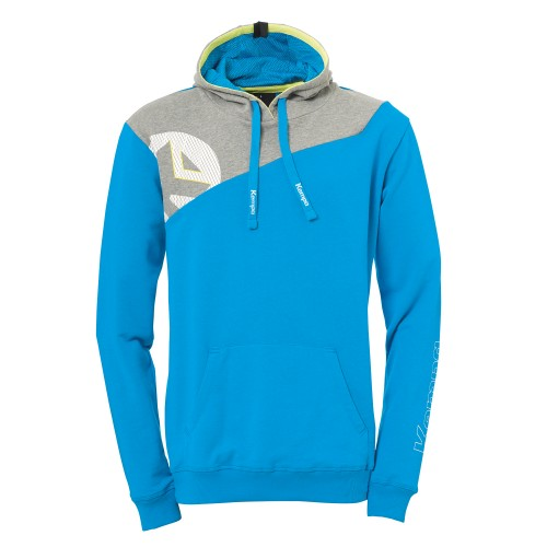 Kempa Core 2.0 Hoody Kids lightblue/gray