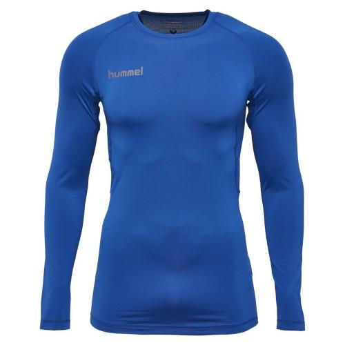 Hummel First Performance ls. Shirt blau