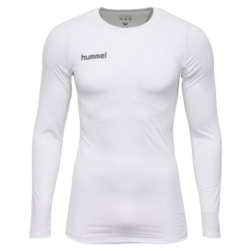 Hummel First Performance ls. Shirt weiß