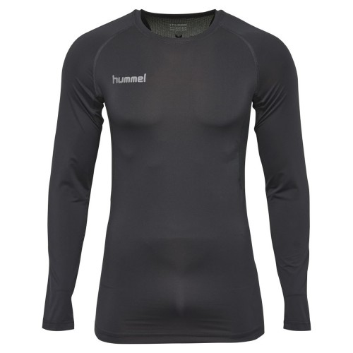Hummel First Performance ls. Shirt Kinder schwarz