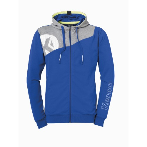 Kempa Core 2.0 Kapuzenjacke Kinder royal/grau