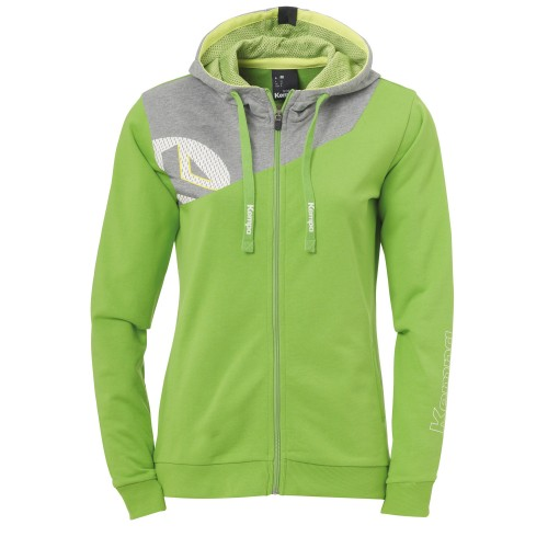 Kempa Core 2.0 Hooded Jacket Women light green/gray