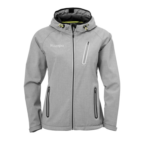 Kempa Core 2.0 Softshell Jacke Damen grau