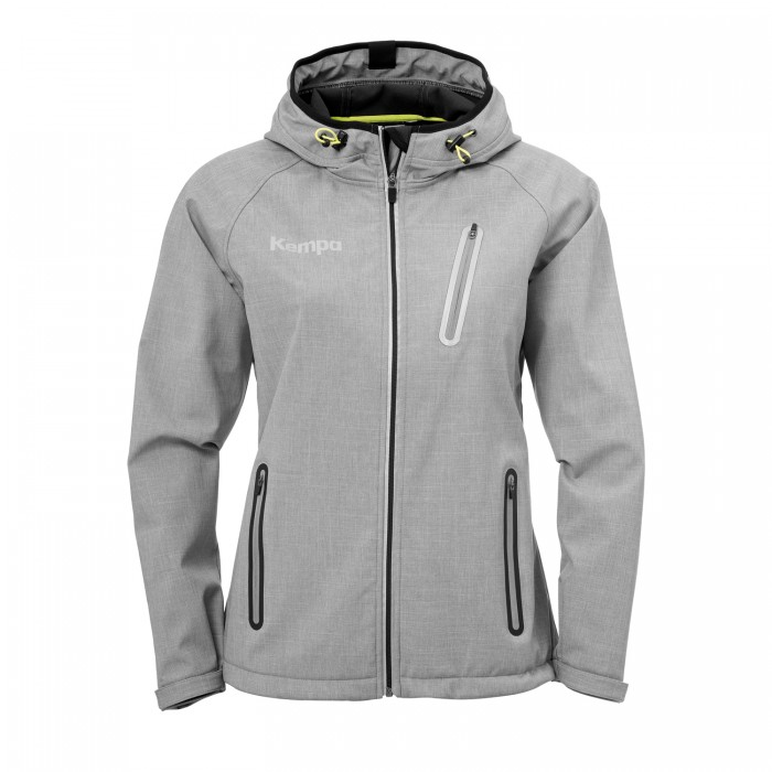 Kempa Core 2.0 Softshell Jacket Women gray