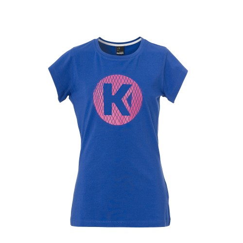 Kempa K-Logo Tee girls purple-blue/pink