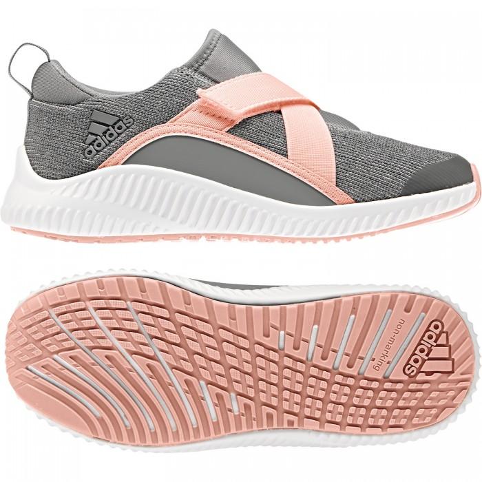finest selection c32a9 888d8 Adidas Leisure shoes Forta Run X CF Kids gray/rose - HANDBALLcompany.de