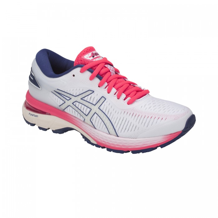 Asics Running Shoes Gel Kayano 25 Women whitepinkblue