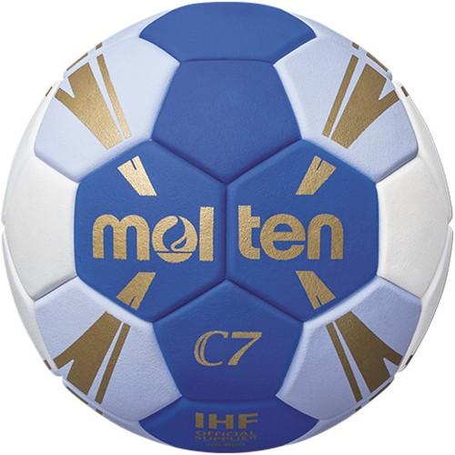 Molten Handball HxC3500 blau/weiß/gold