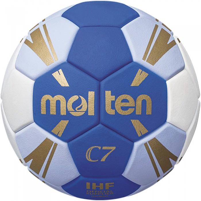 Molten Handball H1C3500 blau/weiß/gold