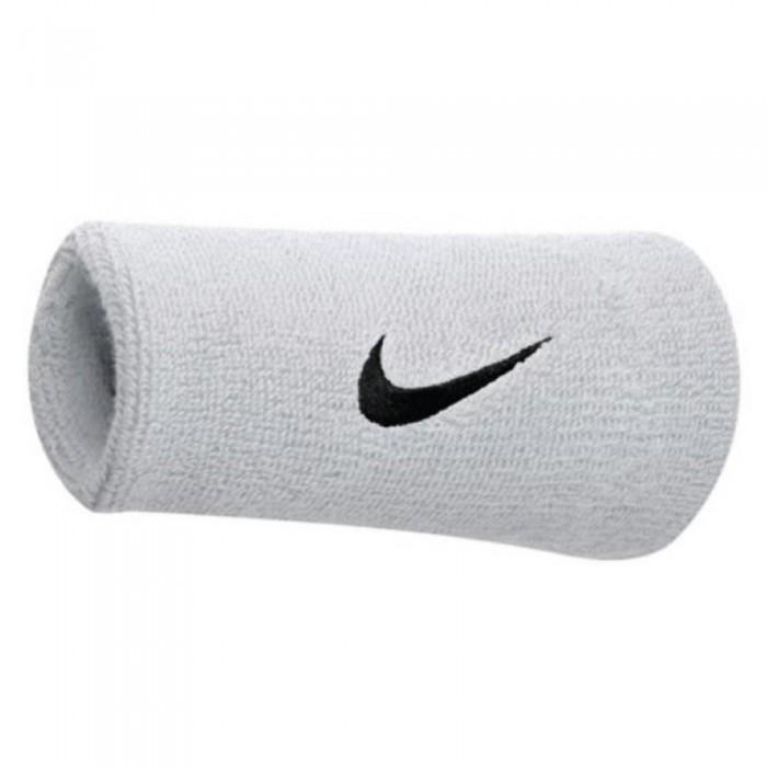 Nike Schweißband breit weiß/schwarz