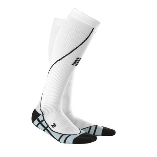 CEP Teamsport Woman-Compression Socks white