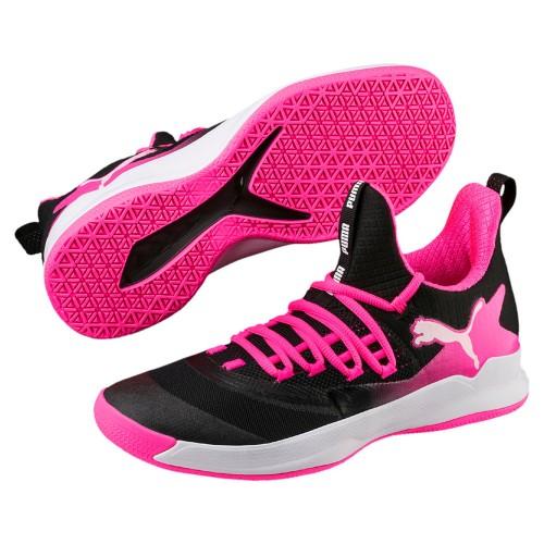 Puma Handballschuhe Rise XT Fuse 2 Damen schwarz/pink