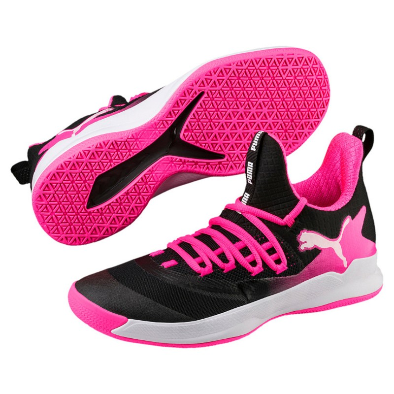 1d394728c07070 Puma Handball shoes Rise XT Fuse 2 women black pink - HANDBALLcompany.de