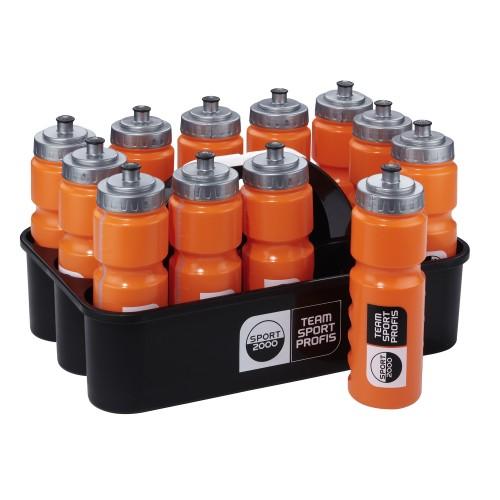 Sport2000 Bottle Box (incl. 12 Bottles) black