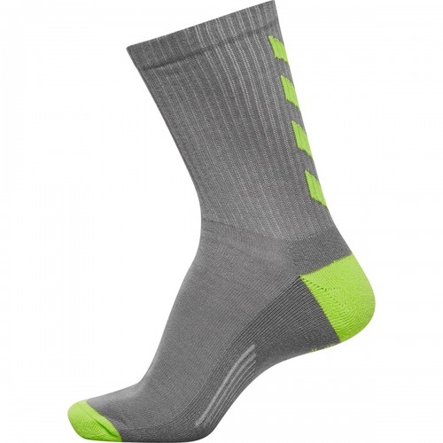 Hummel Court Socks 3 Pack dark gray/green