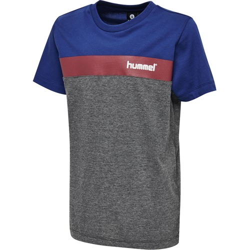 Hummel Rode Tee Kids gray/royal