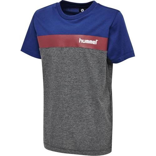 Hummel Rode T-Shirt Kinder grau/royal