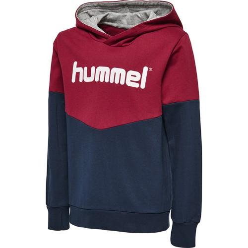 Hummel Milo Kapuzen-Hoodie Kinder navy/rot