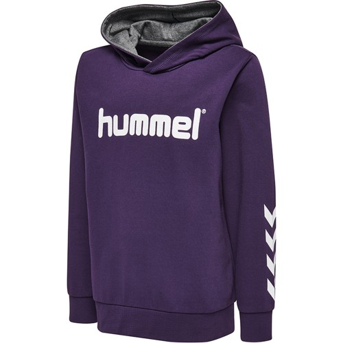 Hummel Kess Kapuzen-Hoodie Kinder lila/weiß