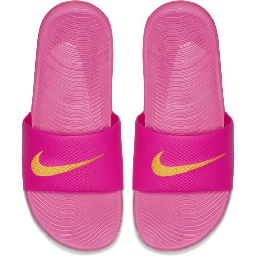 Nike Badeschuhe Kawa Slide Damen pink/orange