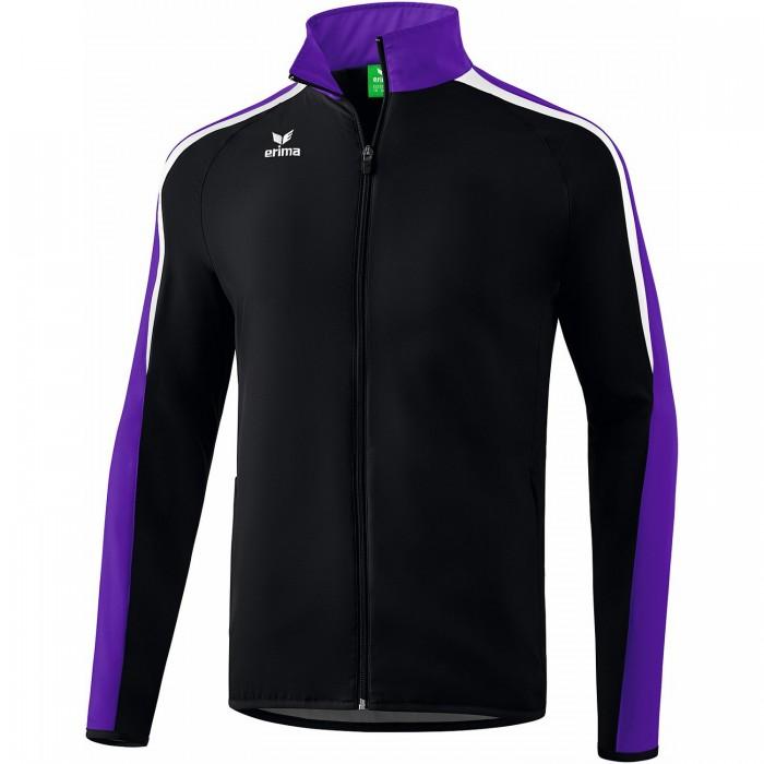 Erima Liga 2.0 Präsentationsjacke schwarz/violet