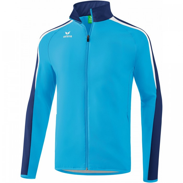 Erima Liga 2.0 Presentation Jacket Kids turquoise/white