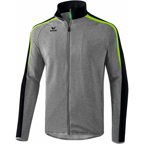 Erima Liga 2.0 Presentation Jacket Kids grey melange/green