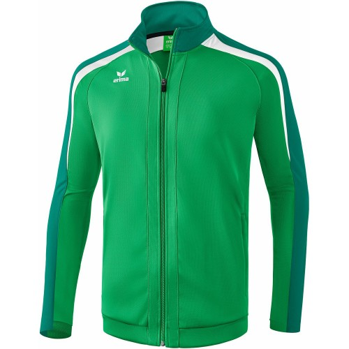 Erima Liga 2.0 Trainingsjacke Kinder grün/weiß