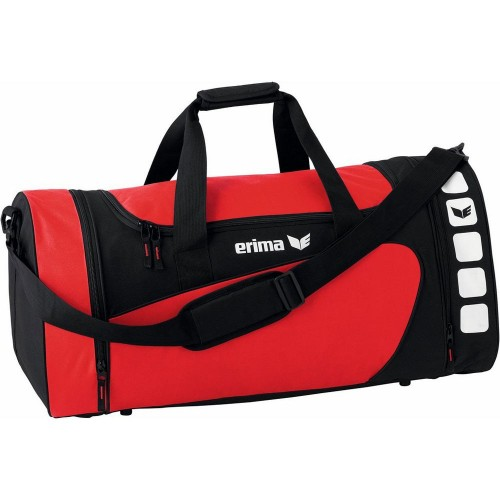 Erima Sports bag Club 5 Line rot/black medium