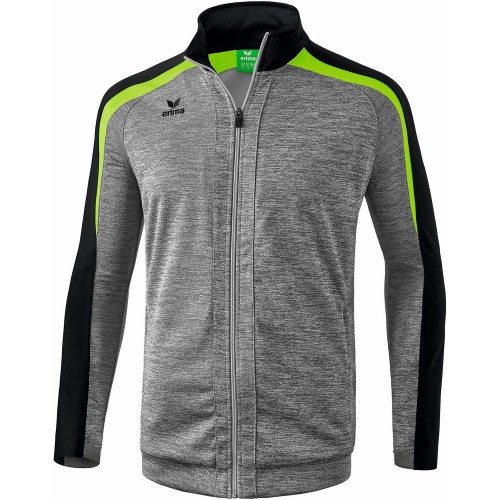 Erima Liga 2.0 Training Jacket Kids grey melange/green