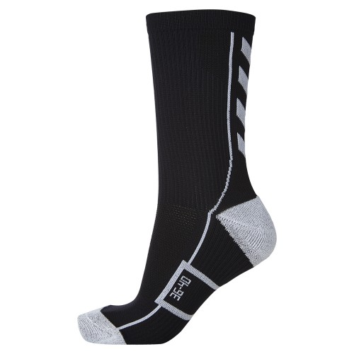 Hummel Tech Indoor Sock low schwarz/weiß
