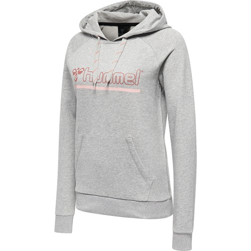 Hummel Classic Bee Leisurely Hoodie Women gray