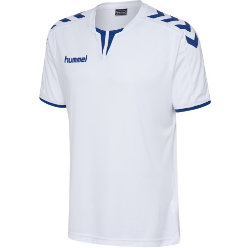 Hummel Jersey Core ss Poly Jersey for Kids white/dark blue