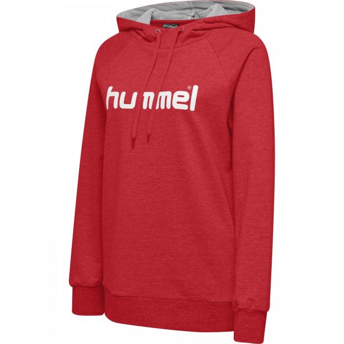 Hummel Go Cotton Logo Hoodie Damen