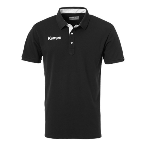 Kempa Prime Polo Shirt black