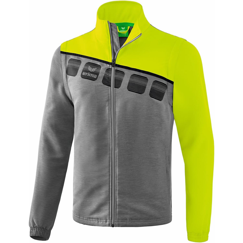 Erima 5 C Jacke mit abnehmbaren Ärmeln: : Bekleidung