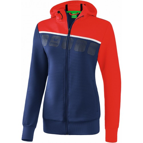 Erima 5-C Hooded Trainingjacket Women