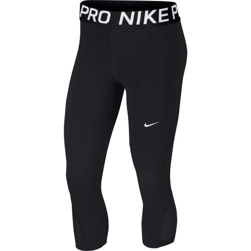 Nike Pro Capri Damen schwarz