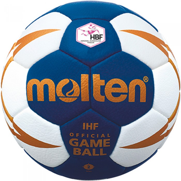 Molten Handball H2X5001 Bundesliga Woman white/blue/gold
