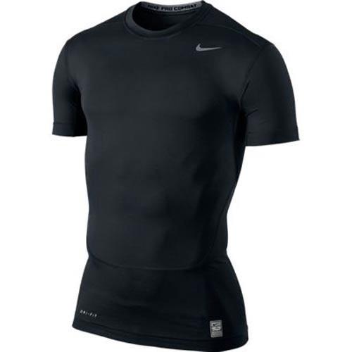 Nike CORE TIGHT CREW short sleeve black