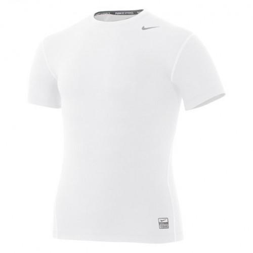 Nike CORE TIGHT CREW short sleeve white